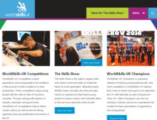 worldskillsuk.apprenticeships.org.uk screenshot