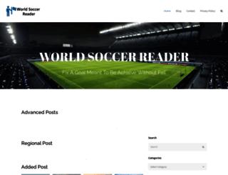 worldsoccerreader.com screenshot