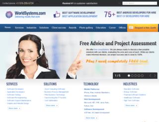 worldsystems.com screenshot