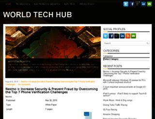 worldtechcentre.com screenshot