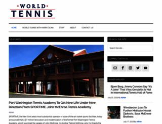 worldtennismagazine.com screenshot