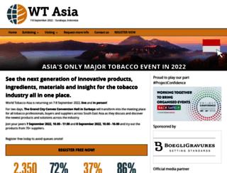 worldtobacco.co.uk screenshot
