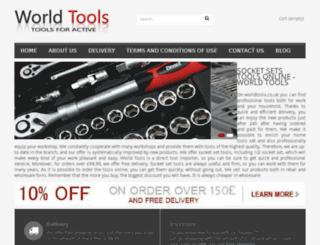 worldtools.co.uk screenshot