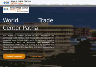 worldtradecenterpatna.org screenshot