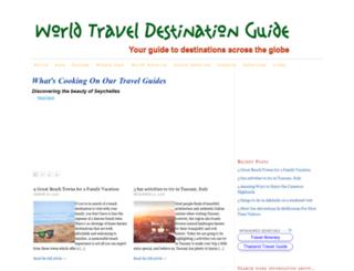 worldtraveldestinationguide.com screenshot