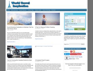 worldtravelinspiration.com screenshot