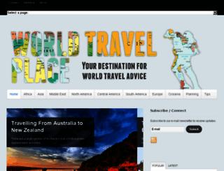 worldtravelplace.com screenshot