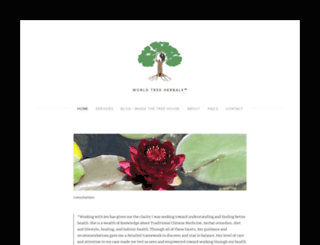 worldtreeherbals.com screenshot