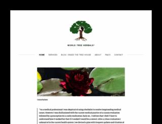 worldtreeherbals.com screenshot