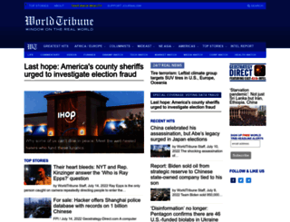 worldtribune.com screenshot
