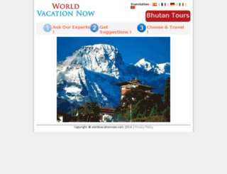 worldvacationnow.com screenshot
