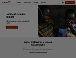 worldvision.es screenshot