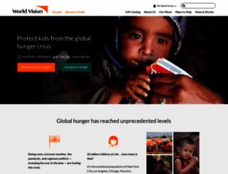 worldvision.org screenshot