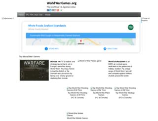 worldwargames.org screenshot