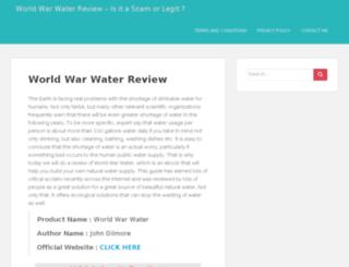 worldwarwaterreview.com screenshot