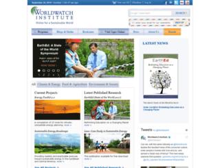 worldwatch.org screenshot