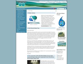 worldwaterforum5.org screenshot
