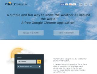 worldweather.quipoapps.com screenshot