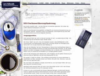 worldweb-seo.de screenshot