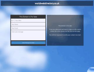 worldwebdirectory.co.uk screenshot