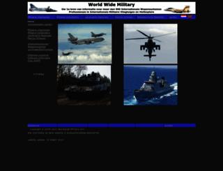 worldwide-military.com screenshot