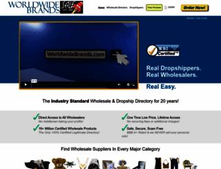 worldwidebrands.com screenshot