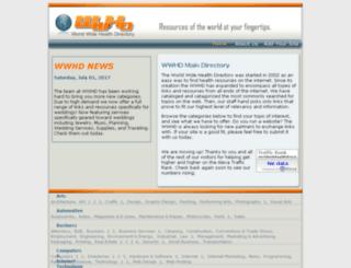 worldwidehealthdirectory.com screenshot