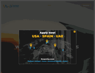 worldwideinternship.com screenshot