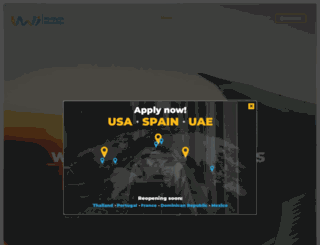 worldwideinternships.org screenshot