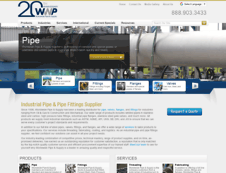 worldwidepipe.com screenshot