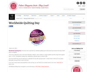 worldwidequiltingday.com screenshot
