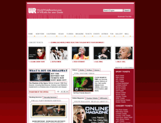 worldwidereaction.com screenshot