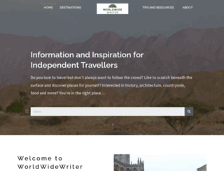 worldwidewriter.co.uk screenshot