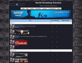 worldwrestlingempyre.go-forum.net screenshot
