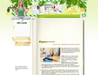 worldyogahistory.blogspot.com screenshot