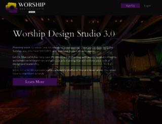 worshipdesignstudio.com screenshot