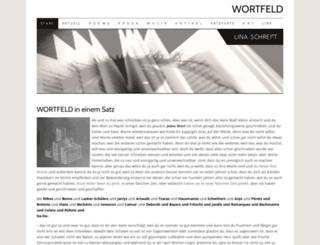 wortfeld.at screenshot