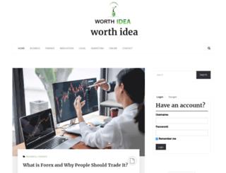 worthidea.com screenshot