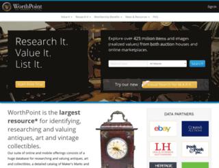 worthpoint.com screenshot