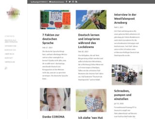 wortschrei.com screenshot