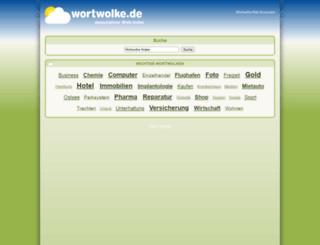wortwolke.de screenshot