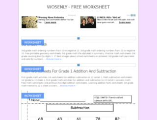wosenly.com screenshot