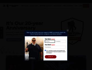 woundedwarriorproject.org screenshot