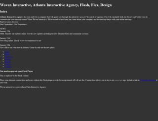 woveninteractive.com screenshot
