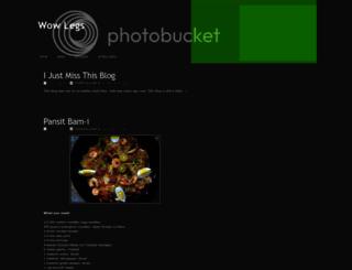 wow-legs.blogspot.com screenshot