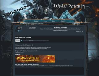 wow-patch.in screenshot