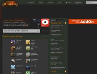 wow.mmoui.com screenshot