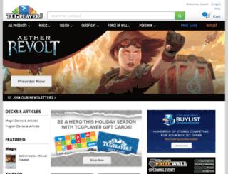wow.tcgplayer.com screenshot