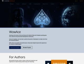 wowace.com screenshot