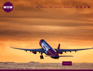 wowair.us screenshot
